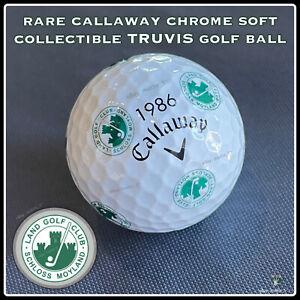 (1) Callaway Chrome Soft TRUVIS Golf BALL (1986) Land GC Schloss Moyland GERMANY