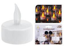 2x INTERMITENTE LED Velas de té Set eléctrico Luces Té con baterías