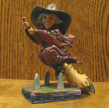 Jim Shore Heartwood Creek #4053867 Pint Size Every Witch Way, From Retail Store