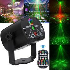 Boule à Facettes Disco Commande Vocale Jeux de Lumière Télécommande USB Idéal DJ