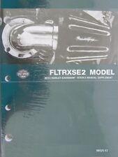 2013 Harley FLTRXSE2 CVO Road Glide Custom Service Manual Supplement 99525-13