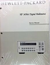 HP 3478A Digital Multimeter Service Manual P/N 03478-90008 *NEW*