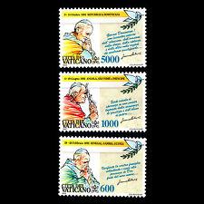 Vatican 1993 - Journey of Pope John Paul II - Sc 936/8 MNH