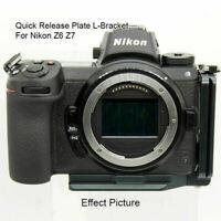 Quick Release L Bracket Plate Mount Vertical Holder Z7 Camera For Nikon I9X0