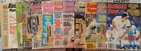 1972 - 1985 Lot Of 11 Vintage Issues Baseball Digest & One Basketball Digest