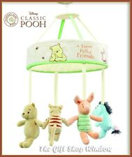 DISNEY WINNIE THE POOH & FRIENDS MUSICAL COT MOBILE UNIVERSAL FITTING BABY GIFT