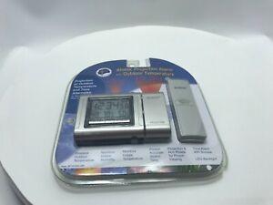 La Cross Atomic Projection Alarm Clock w/ Outdoor Temperature WT-5120