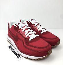 best sneakers 31424 9334e Nike Air Max LTD 3 TXT Men s 10.5 Gym Red White Gum Textile DENIM 746379-