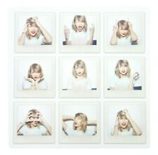 Taylor Swift 9 Faces Polaroid Lithograph 1989 Poster, NEW