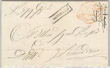 ANTICHI STATI  storia postale - PRECURSORI busta MODENA - MONTECCHIO 1855