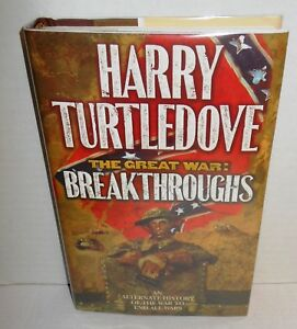 BOOK The Great War Book 3 Breakthroughs by Harry Turtledove 2000