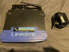 Linksys WRT54GS v.2 Wireless-G 2.4 Ghz Broadband 4PORT 802.11g Router