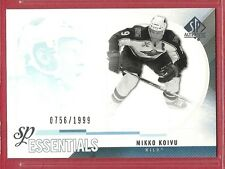 2010-11 Sp Authentic Hockey Essentials - #172 - Mikko Koivu - Minnesota Wild