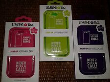 Limited Too Light-Up SoftShell Case Cover For iPhone 6/6S . Lot of 3