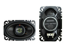 "2) New Kenwood KFC-4675C 4x6"" 60 Watt 2-Way Car Audio Speakers System Stereo"