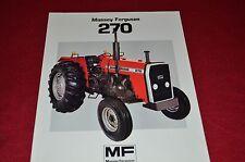 Massey Ferguson 270 Tractor Dealer's Brochure FMD 906-183-25-1