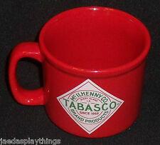 "McIlhenny TABASCO Red Mug Cup 3.5"" Red"
