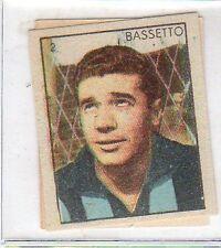 FIGURINA CAMPIONI DELLO SPORT ANNI '50 - N°3 SAMPDORIA BASSETTO