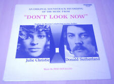 PINO DONAGGIO DON'T LOOK NOW OST 1st UK LP 1974 NIC ROEG CULT HORROR LISTEN