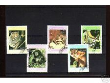 1046++LAOS   SERIE TIMBRES  ANIMAUX SAUVAGES N°2