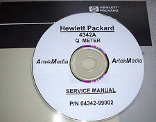 HP 4342A Q-Meter Operating & Service Manual