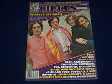 1978 OCTOBER 3 CIRCUS MAGAZINE - THE BEATLES COVER - GREAT PHOTOS - J 675