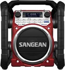 Sangean U-4 DBT DAB+ Baustellenradio AUX, Bluetooth®, DAB+, UKW spritzwassergesc