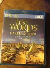 IMAX:Lost Worlds (Mayan Mysteries/Life in the Balance) (Blu-ray/DVD Combo) NEW