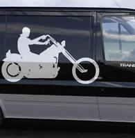Motorrad Aufkleber Chopper Biker Motorradaufkleber JDM Werbung Motorradhändler