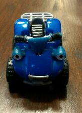 Scrambler Eyes Blue Vehicle Motorcycle Off Road Collectible Diecast Toy Car htf