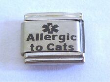 9mm Classic Size Italian Charms  L14  Allergic To Cats