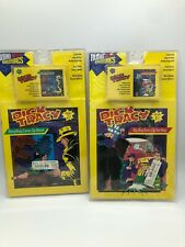 Disney Dick Tracy Cassette Story books lot of 2- New Sealed Box Audio Adventures