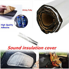 New Car Hood Turbo Exhaust Muffler Insulation Cotton Heat Shield Engines Mat Pad