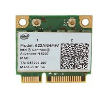 + Intel® Centrino® N 6200 622ANHMW Dual Band 5Ghz WLAN WIFI Mini PCI Express +