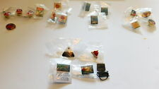 (20) Red Cross Pins Lot  -  15 HOLIDAY HEROES & 5 Assorted Red Cross Pins