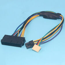 ATX PSU 24Pin To 6Pin + Small 6Pin power Cable For HP Z220 Z230 SFF 30cm