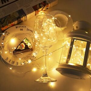 USB LED Copper Wire String Lights Christmas Decor Lights Copper Wire Star String