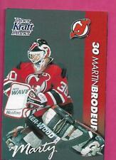 RARE 1994 DEVILS MARTIN BRODEUR  KRAFT DINNER CARD (INV# C4568)