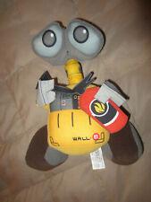 "WALL-E Robot 12"" Plush Fire Extinguisher Disney Theme Parks Movie Stuffed Toy"