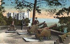 C001190   TRIESTE   MIRAMAR   ANIMATA   CANNONI   VIAGGIATA    1918