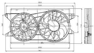 Radiator Fan Assy   Global Parts Distributors   2811559
