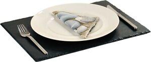 Kesper Ardoise 40x30 CM Anthracite Servier Buffet dessous de Plats Place Table