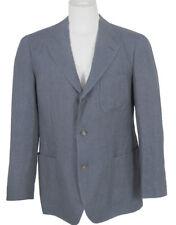 NEW! $2795 Loro Piana Unstructured Linen Sportcoat Jacket! US 38 e 48 Denim Blue
