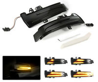 2x Car Rearview Mirror Turn Signal Light Dynamic Led Indicator For Mercedes Benz