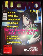 Vogue L'UOMO Italia 2010 Daniel Redcliffe Shaun White Ian Somerhalder Max Irons