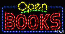 """New """"Open Books"""" 32x17 Solid/Animated Led Sign W/Custom Options 25469"""