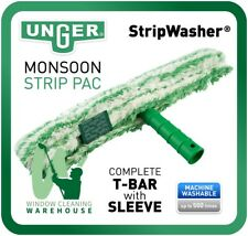 "Unger Strip Washer Monsoon STRIP PAC COMPLETE WASHER 14"" 35cm T-Bar & Sleeve"