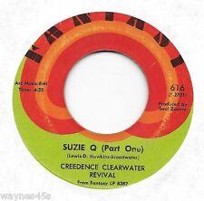 CCR * 45 * Suzie Q (Parts 1&2) * 1968 * USA ORIGINAL ! FANTASY * Susie
