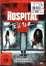 The Hospital - Teil 1 & 2 - 2 Filme DVD Box - *NEU*