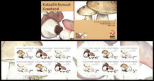 Greenland 2005 Edible Funghi, Mushrooms 73DKK Booklet complete. UNM / MNH